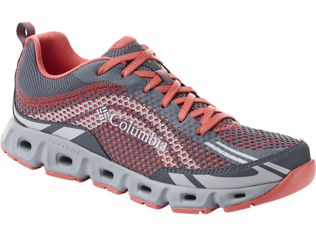 Columbia Drainmaker IV Kengät Naiset, graphite/red coral